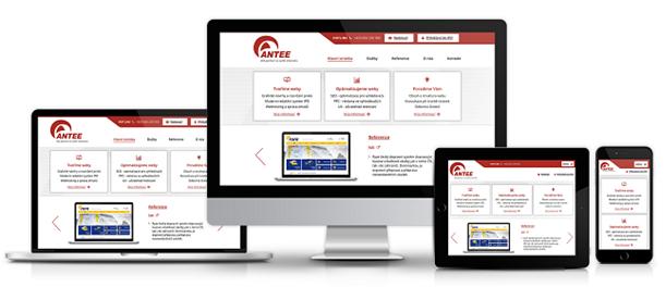 Responzivní zobrazení webu